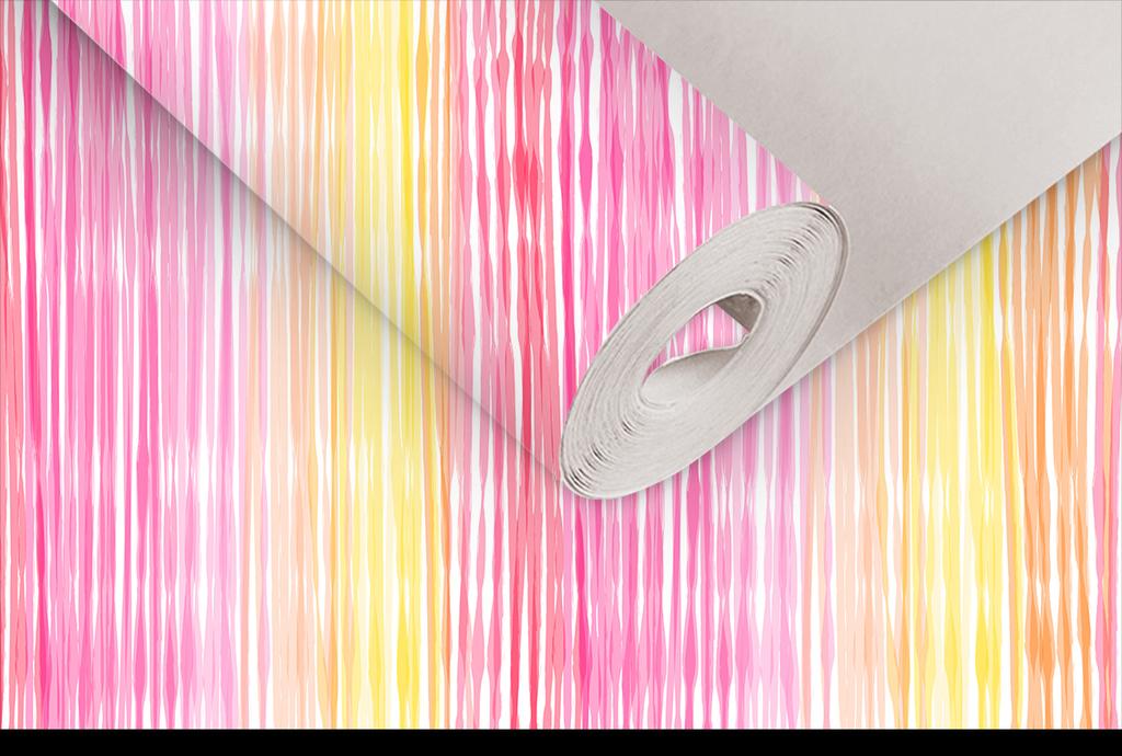 psd)手绘彩色纹理墙纸                                  水墨画