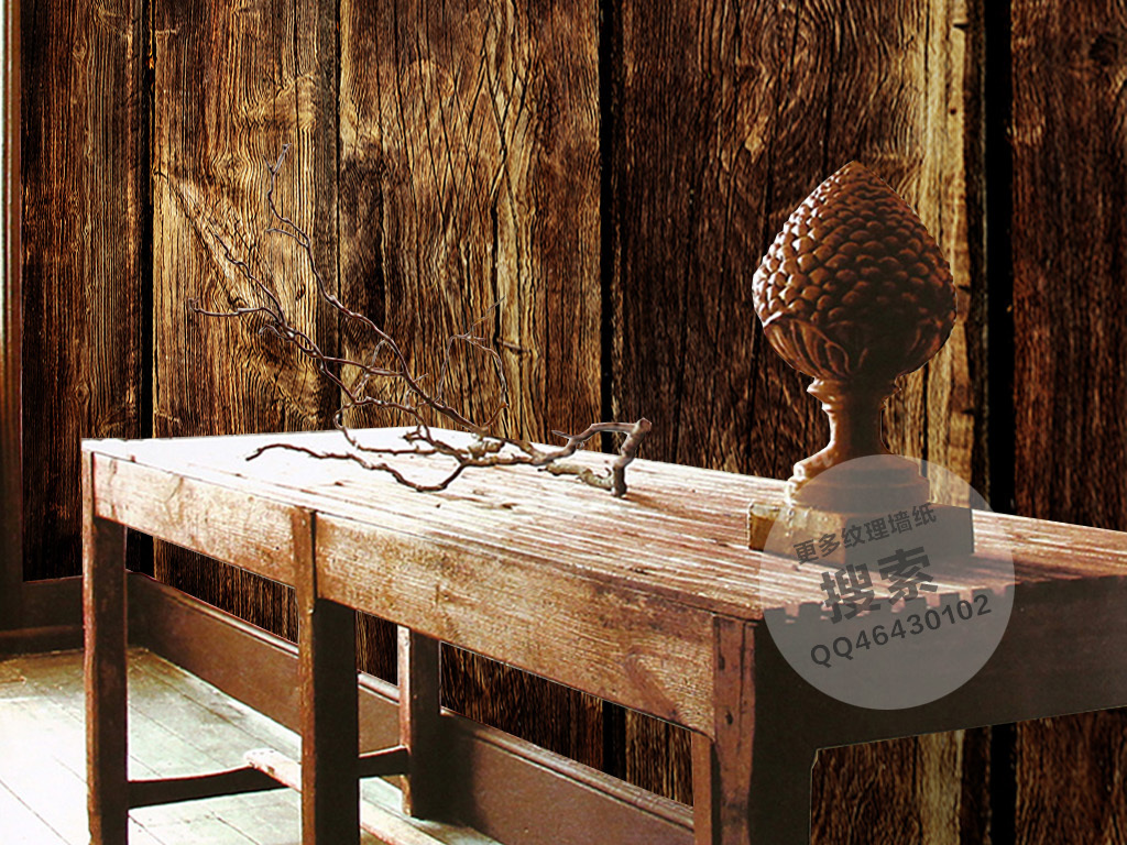 背景墙|装饰画 墙纸 其他 > 老式竖条木块纹理墙纸  版权图片 设计师