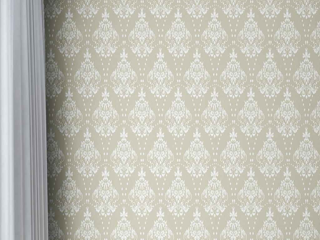 欧式花纹纹理墙纸图片
