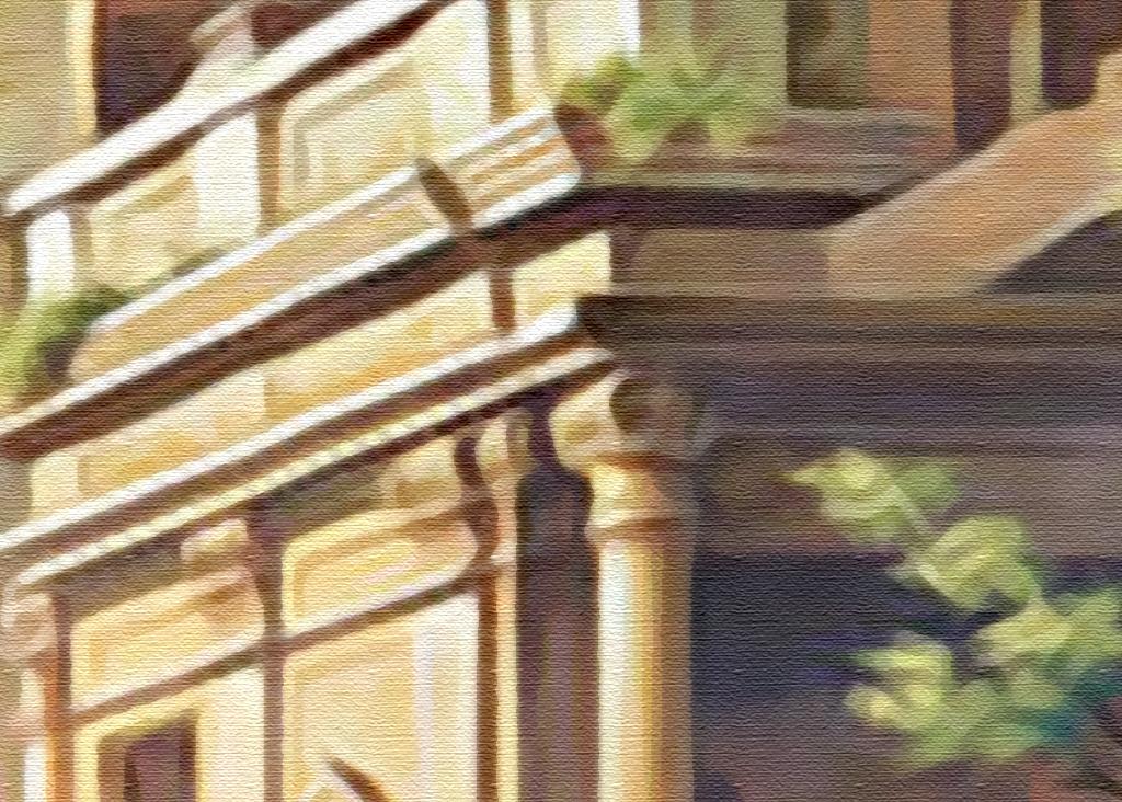 背景墙|装饰画 电视背景墙 田园背景墙 > 欧式复古中世纪手绘教堂废墟