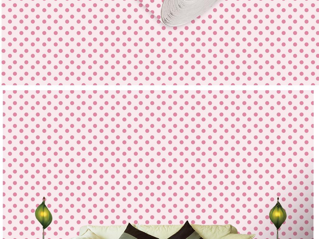 现代简约时尚几何图案壁纸图片