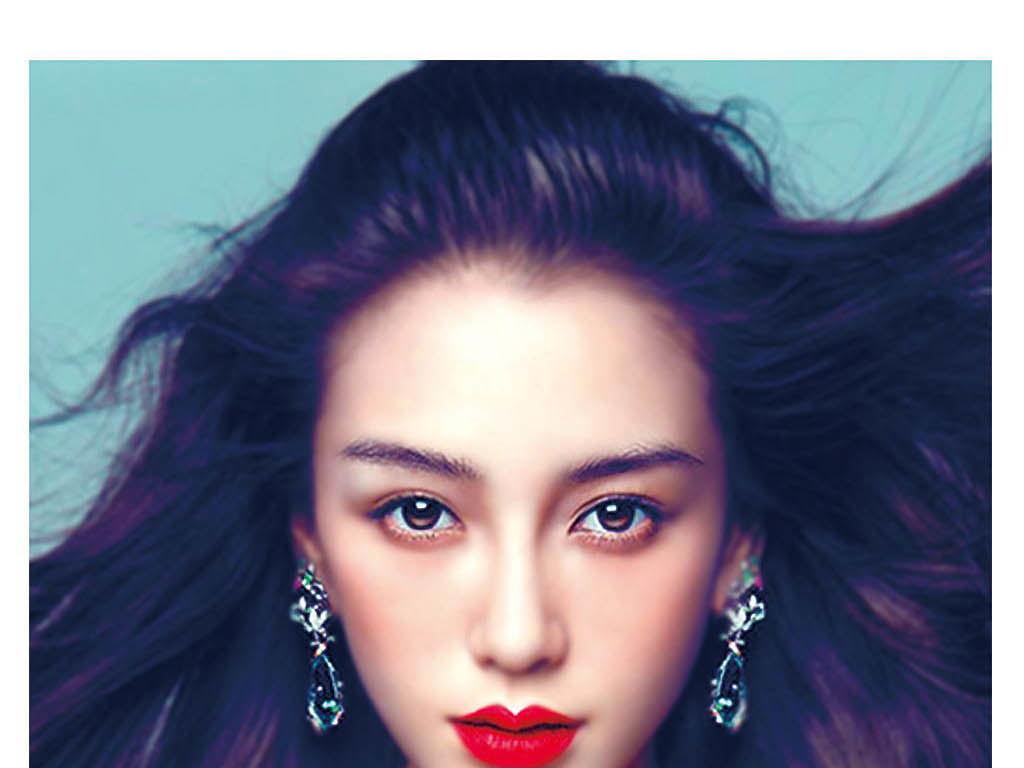 韩国美女dm宣传单素颜美人3d半永久绣眉纹绣韩式