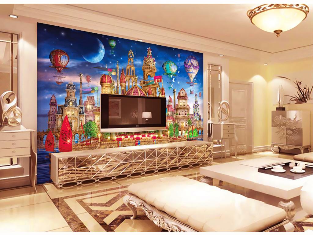 装饰画客厅壁画大厅壁画酒店壁画