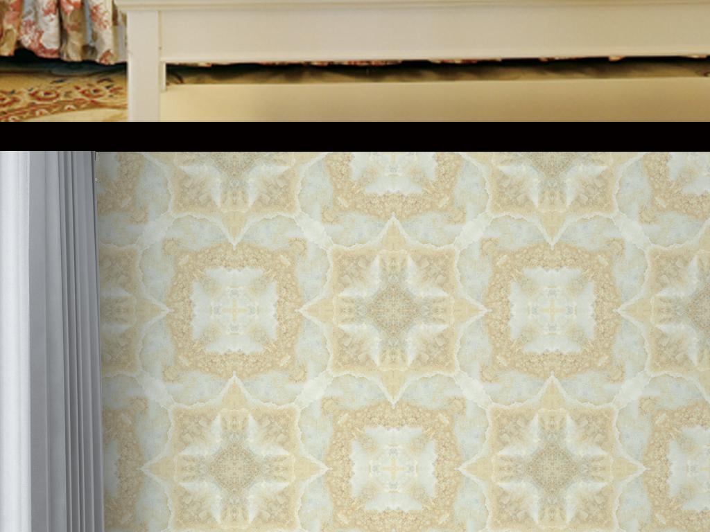 设计作品简介: 高清欧式石材拼花墙纸 位图, cmyk格式高清大图,使用图片