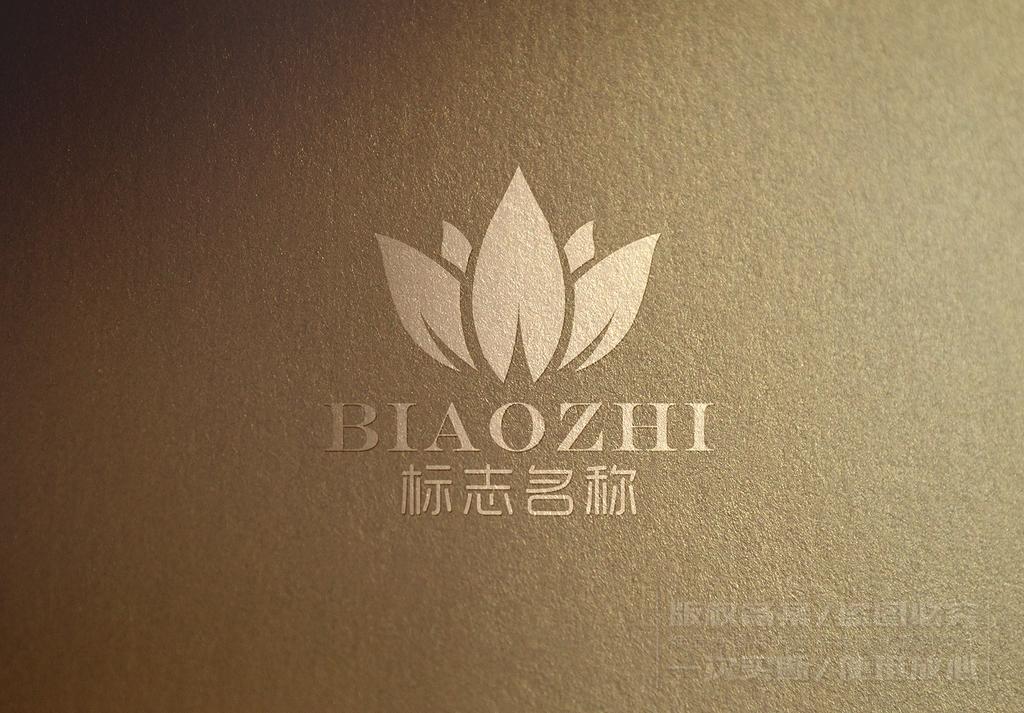 出水芙蓉logo设计商标设计标志设计