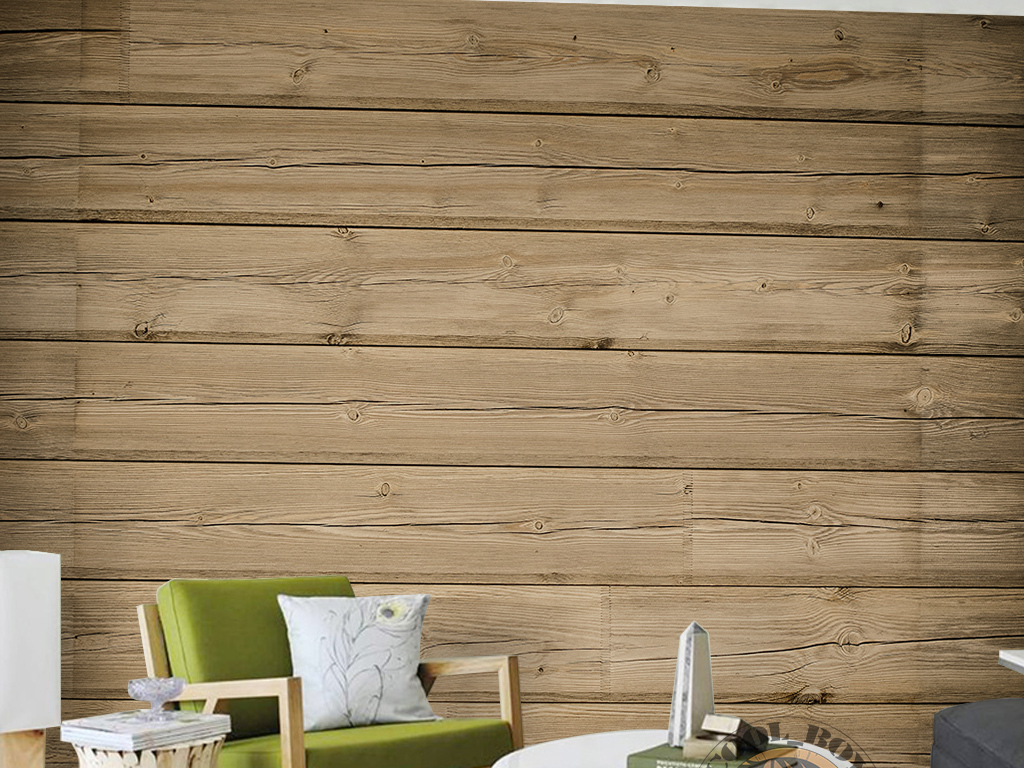 欧式复古怀旧手绘木板纹理缝隙背景墙