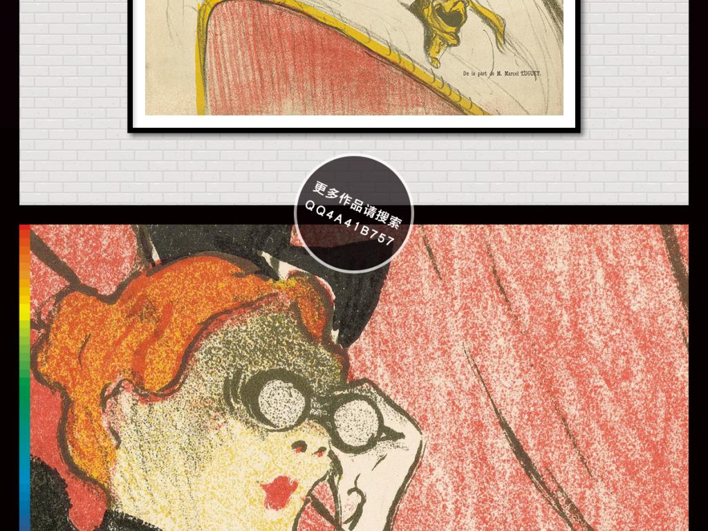 欧式手绘人物黑白时尚女人进口画芯装饰画