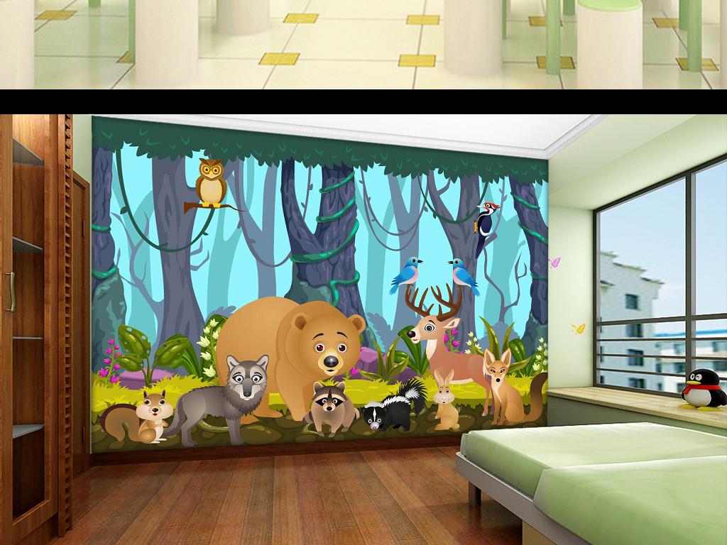 我图网提供精品流行手绘卡通森林动物系列背景墙素材下载,作品模板源文件可以编辑替换,设计作品简介: 手绘卡通森林动物系列背景墙 矢量图, RGB格式高清大图,使用软件为 Illustrator CS5(.ai) 超高清 矢量 手绘 卡通