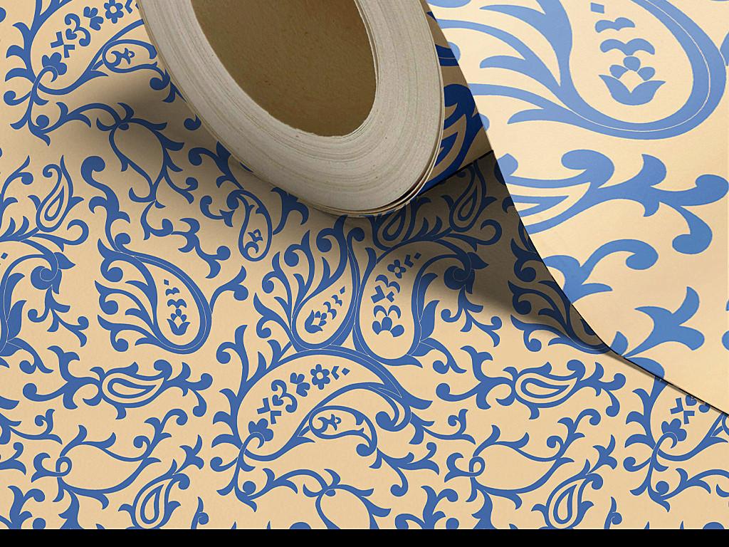 高清漂亮大气欧式花纹墙纸图片设计素材 模板下载 18.49MB 欧式墙纸