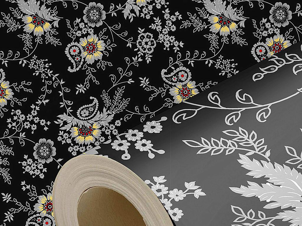 设计作品简介: 复古高贵欧式花纹墙纸 位图, rgb格式高清大图,使用图片