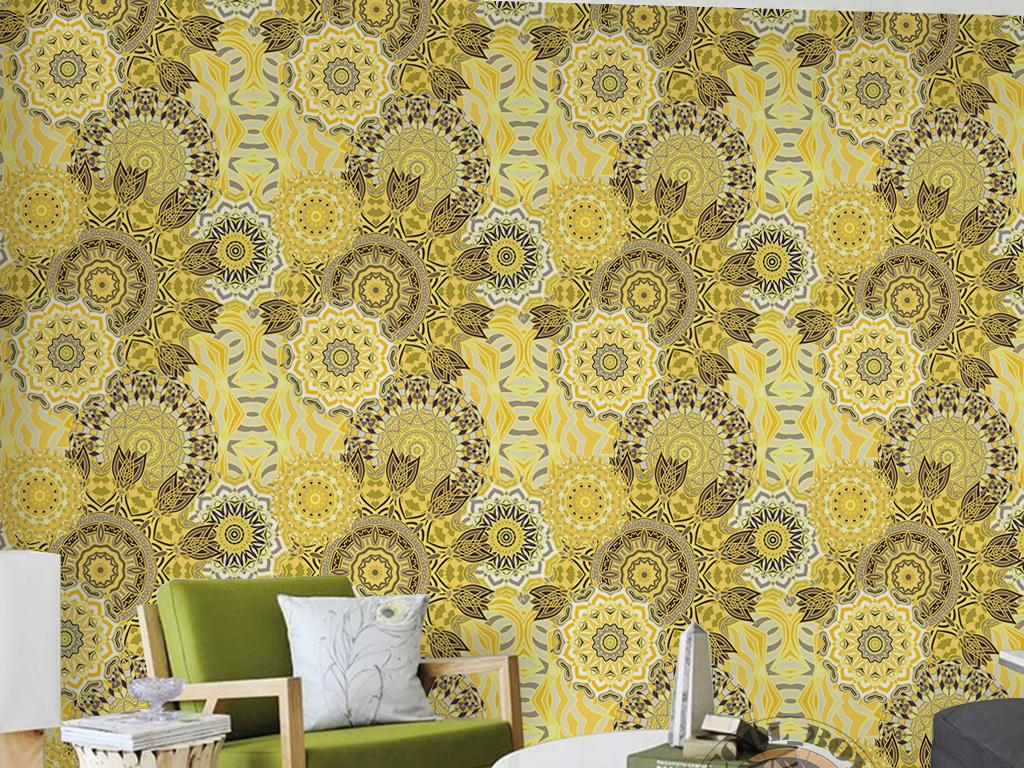 浪漫壁纸墙纸欧式欧式背景墙纸欧式花朵墙纸壁画欧式