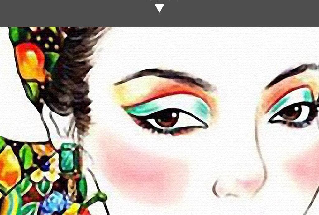 仙人掌少数民族美女手绘清新小资酒店装饰画