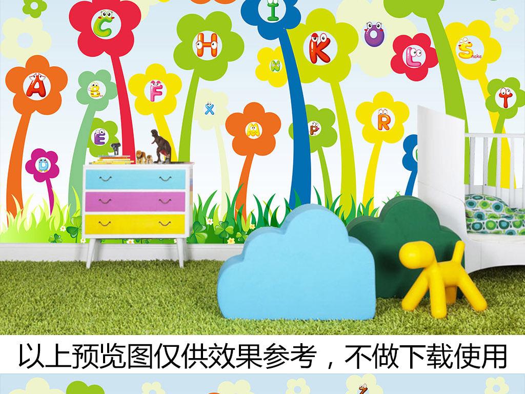 花朵                                  手绘花儿童