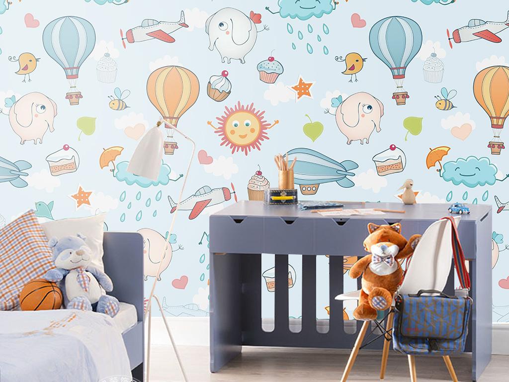 动物北欧风格小清新现代简约宝宝儿童房儿童房图片儿童房系列儿童房