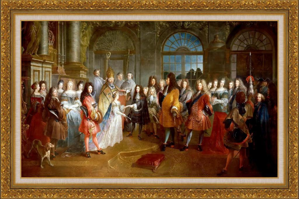 高清欧洲宫廷油画图片