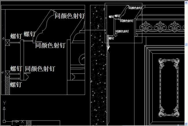 cad图库 室内设计cad图库 展厅cad图纸 > 护墙板安装cad