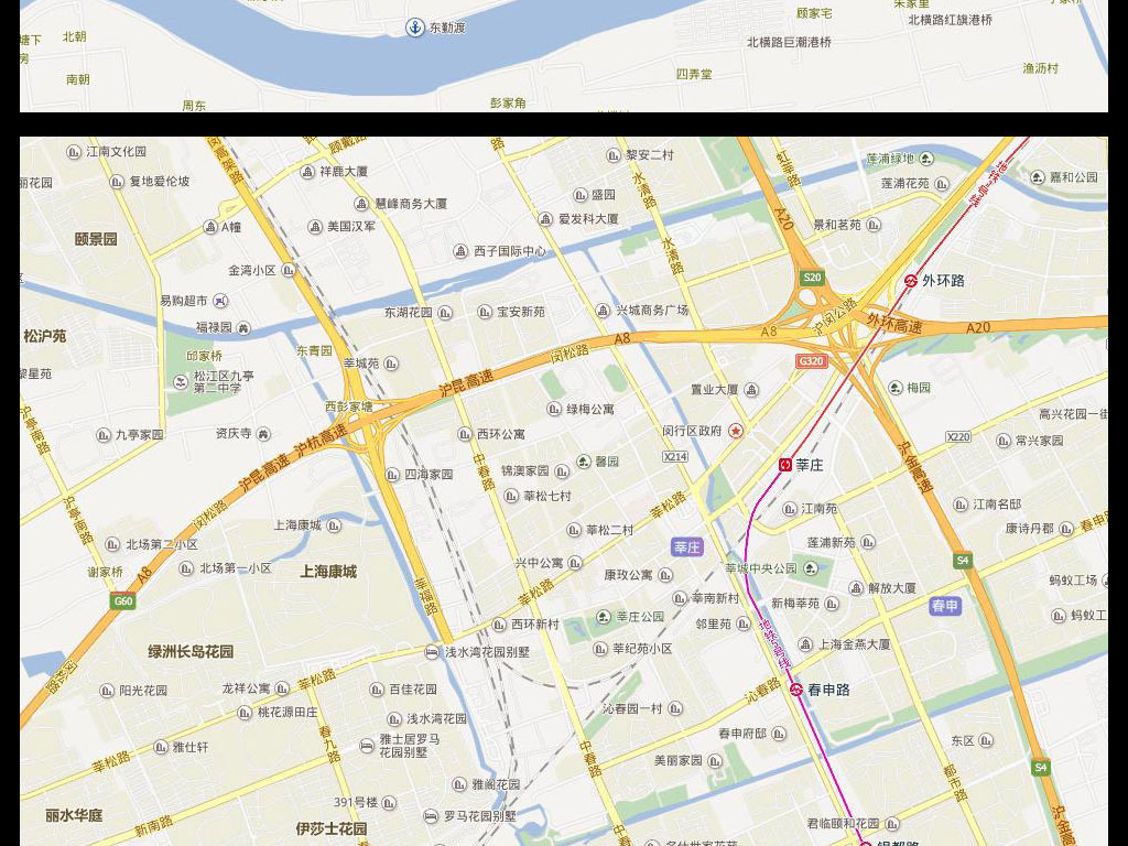 2016上海市电子地图上海市地图