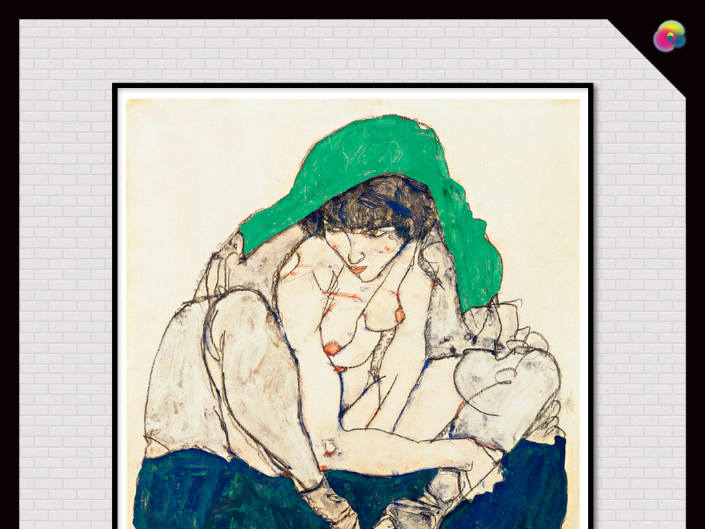 背景墙|装饰画 无框画 人物无框画 > 手绘女性人体艺术写生情色素描