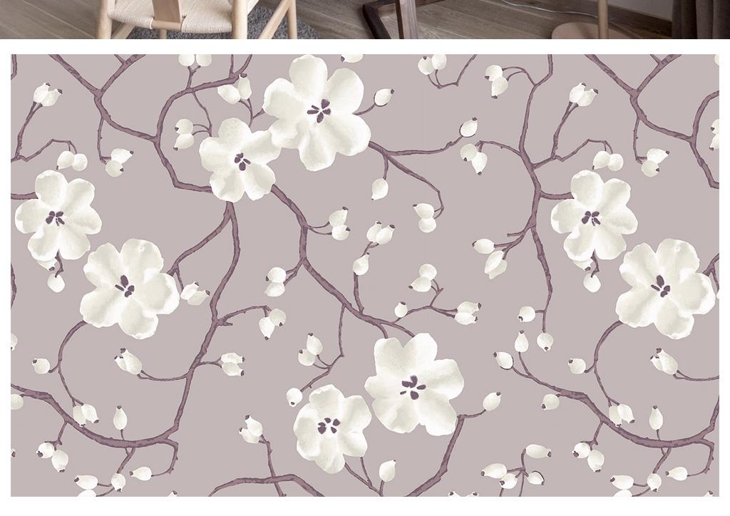 tif不分层)2016新款简中式客厅背景墙中式壁画背景墙贴图古典儒雅中式图片