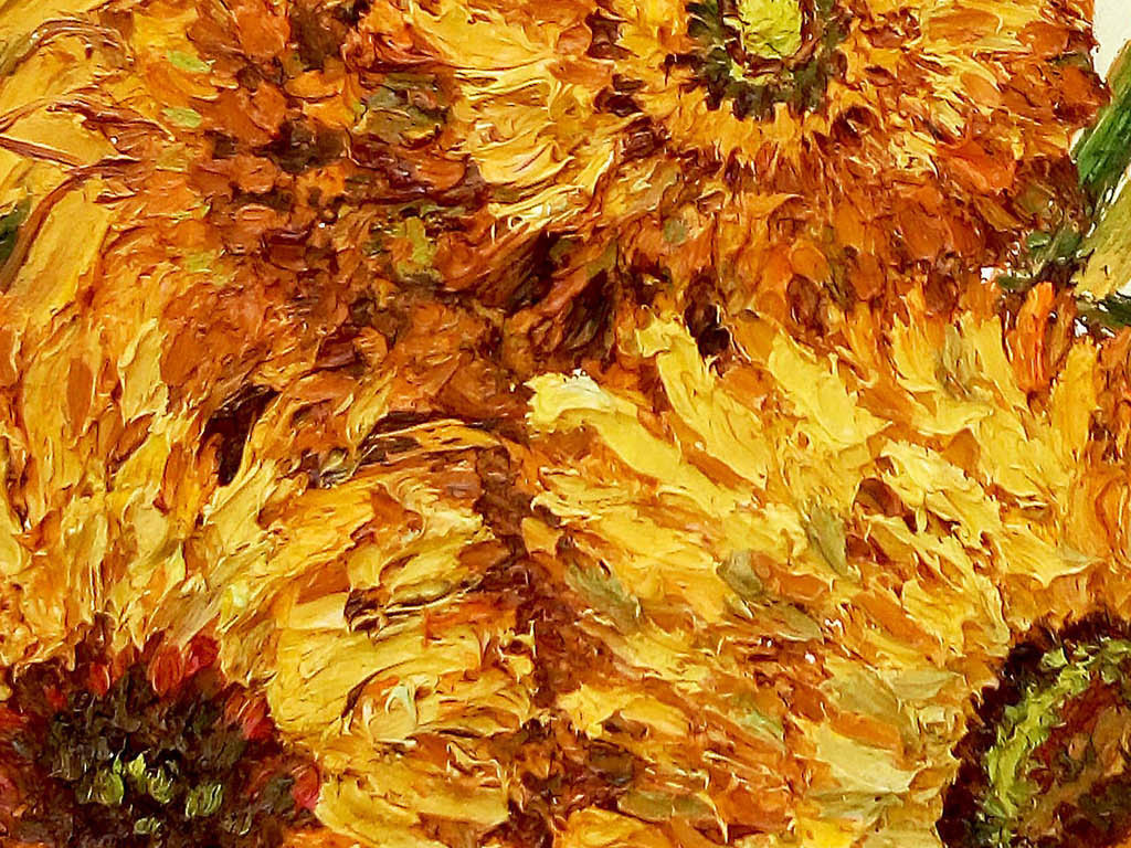 手绘向日葵插画水彩画玄关背景墙