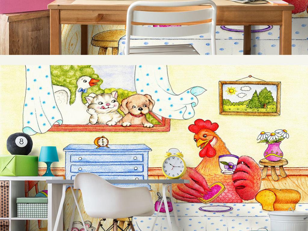 童话故事男孩卧室女孩幼儿园可爱