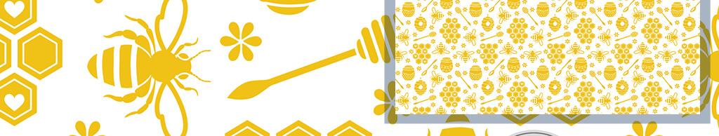 现代简约手绘简单几何图案心形金色墙纸