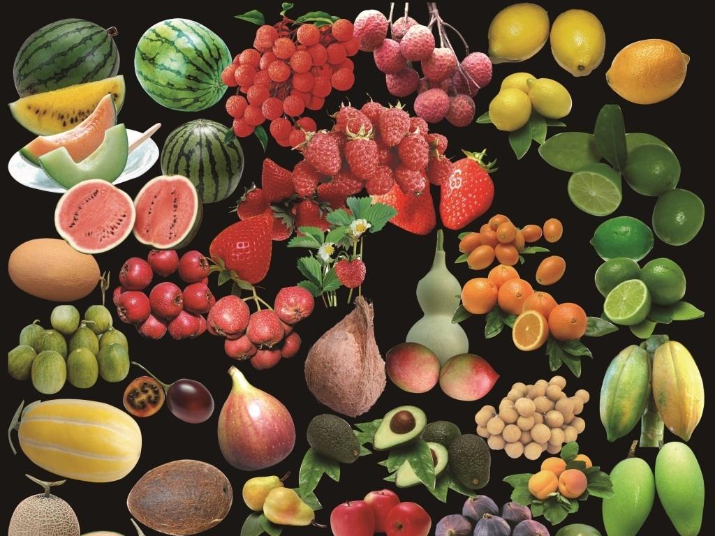 西瓜皮雕刻水果拼盘图片大全