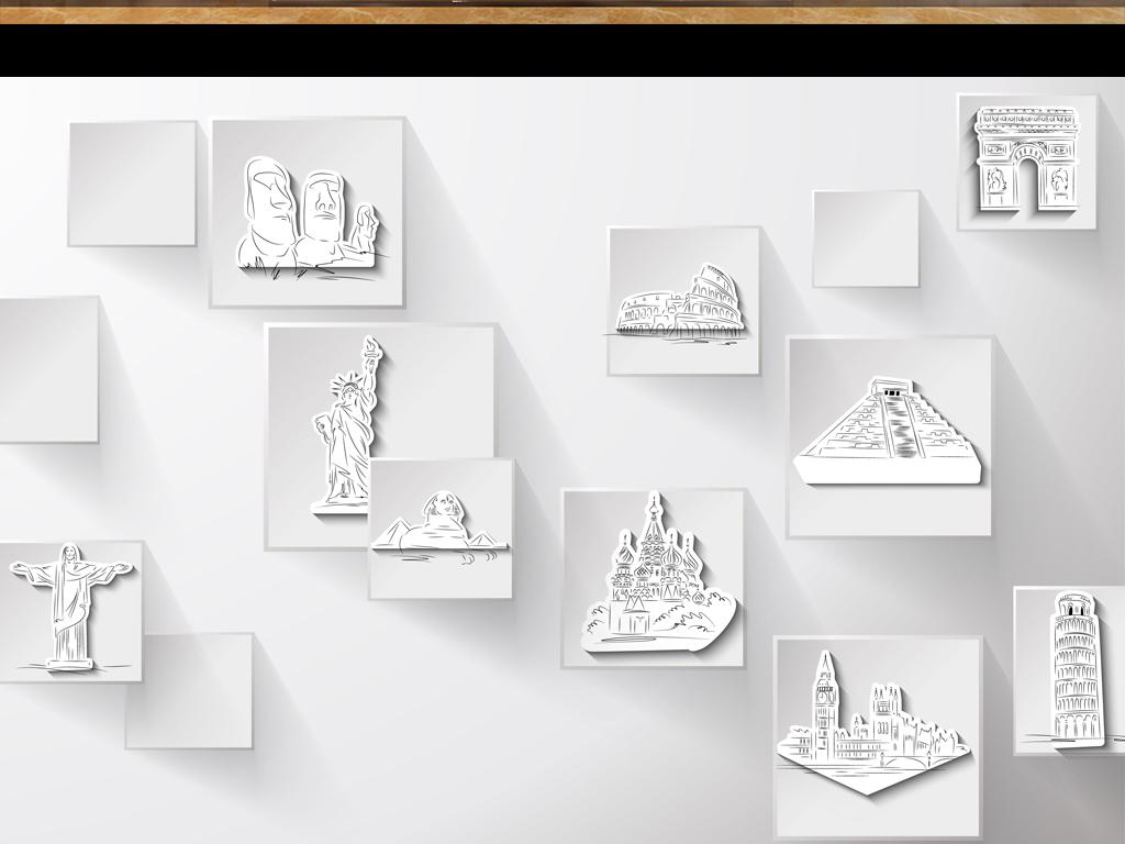 我图网提供精品流行3d高清立体方块手绘世界著名景点背景墙素材下载,作品模板源文件可以编辑替换,设计作品简介: 3d高清立体方块手绘世界著名景点背景墙 矢量图, CMYK格式高清大图,使用软件为 Illustrator CS4(.ai) 手绘世界著名景点背景墙设计模板模板下载