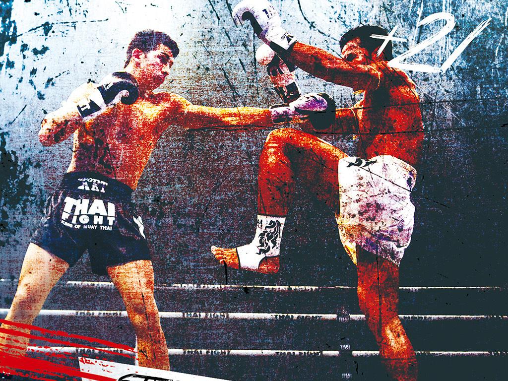 搏击�y.d:`�9�%9df:(j_炫酷搏击拳击擂台挑战健身俱乐部宣传海报