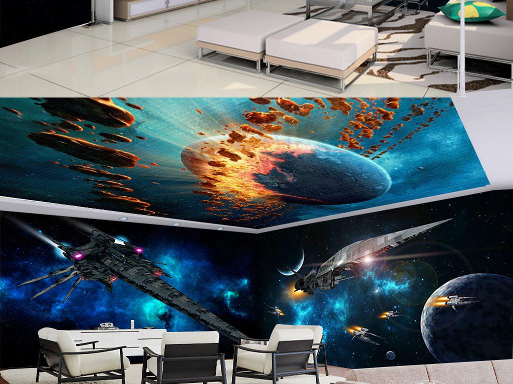战斗机电视背景墙图片玻璃电视背景墙图片客厅电视背景墙图片舞台背景