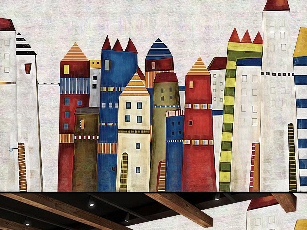 墙幼儿园咖啡厅酒吧ktv手绘人物手绘背景手绘墙手绘背景墙手绘花鸟