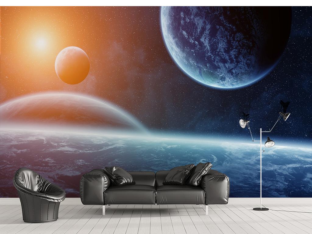 太空宇宙科幻星空墙纸图片