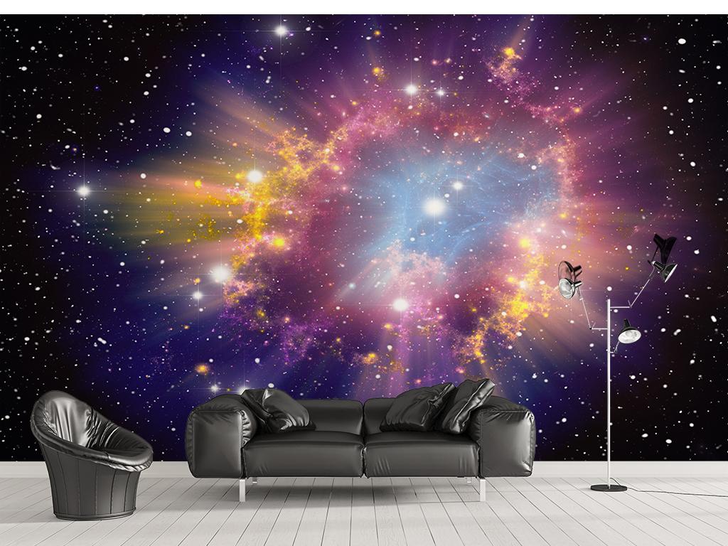 科幻星空宇宙主题墙纸