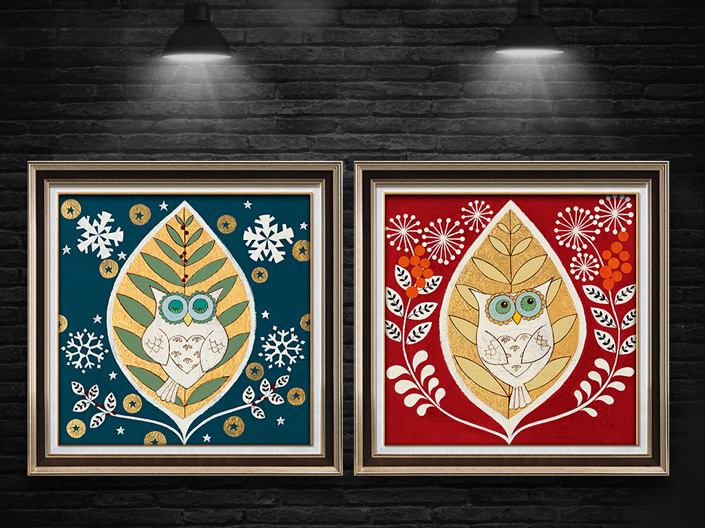 装饰画黑白装饰画餐厅装饰画水粉装饰画线描装饰画