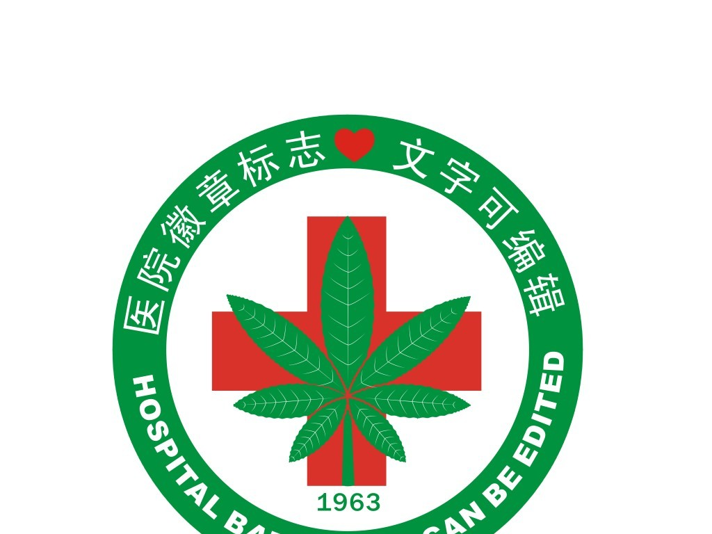 医院院徽标志设计