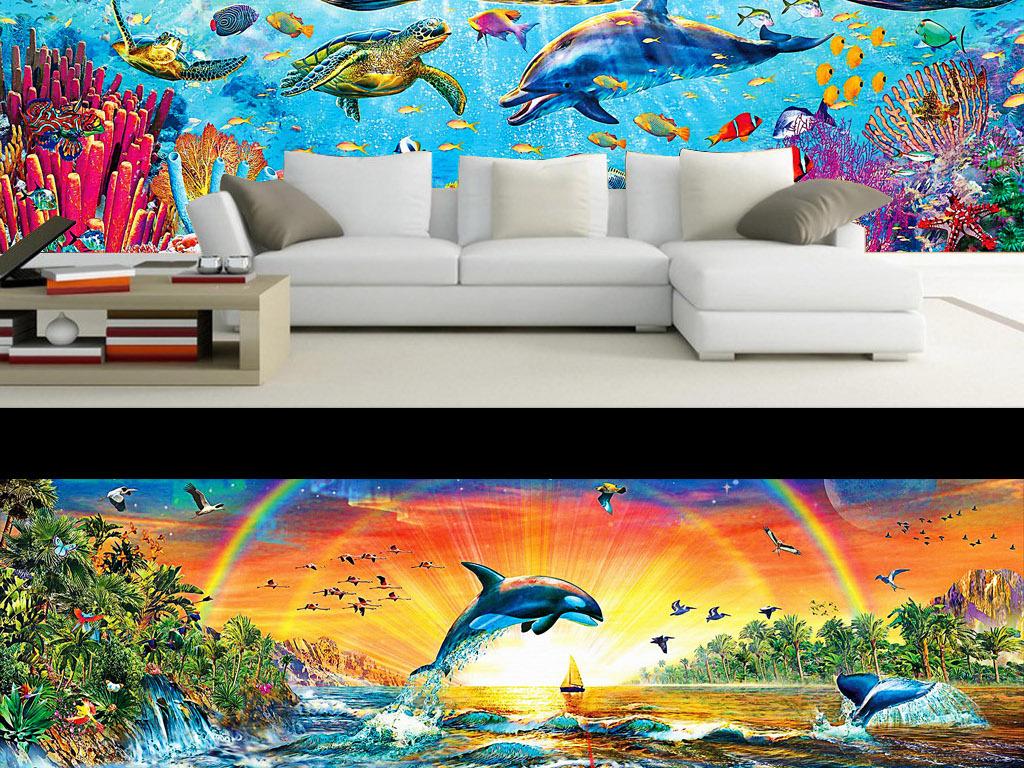 墙布                                  壁纸墙纸墙壁粘贴画手绘