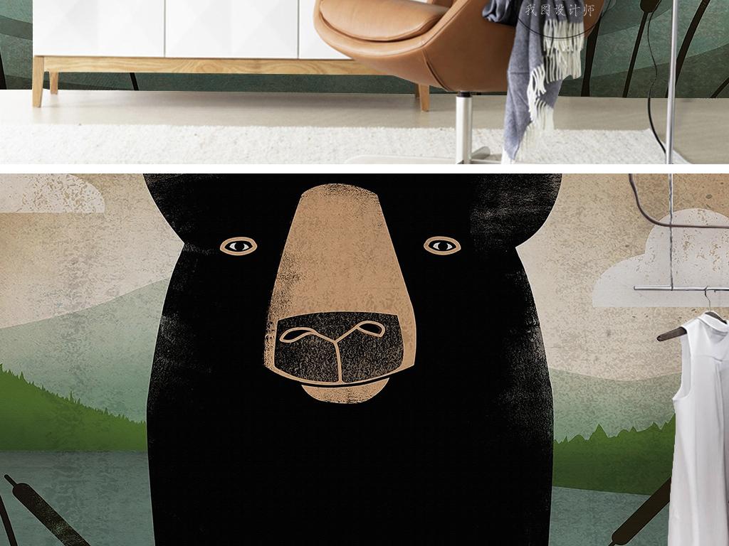 偷袈裟的黑熊精图片