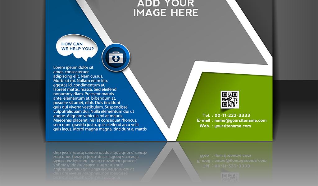 办公用品手册文具封面设计矢量素材传单封面宣传
