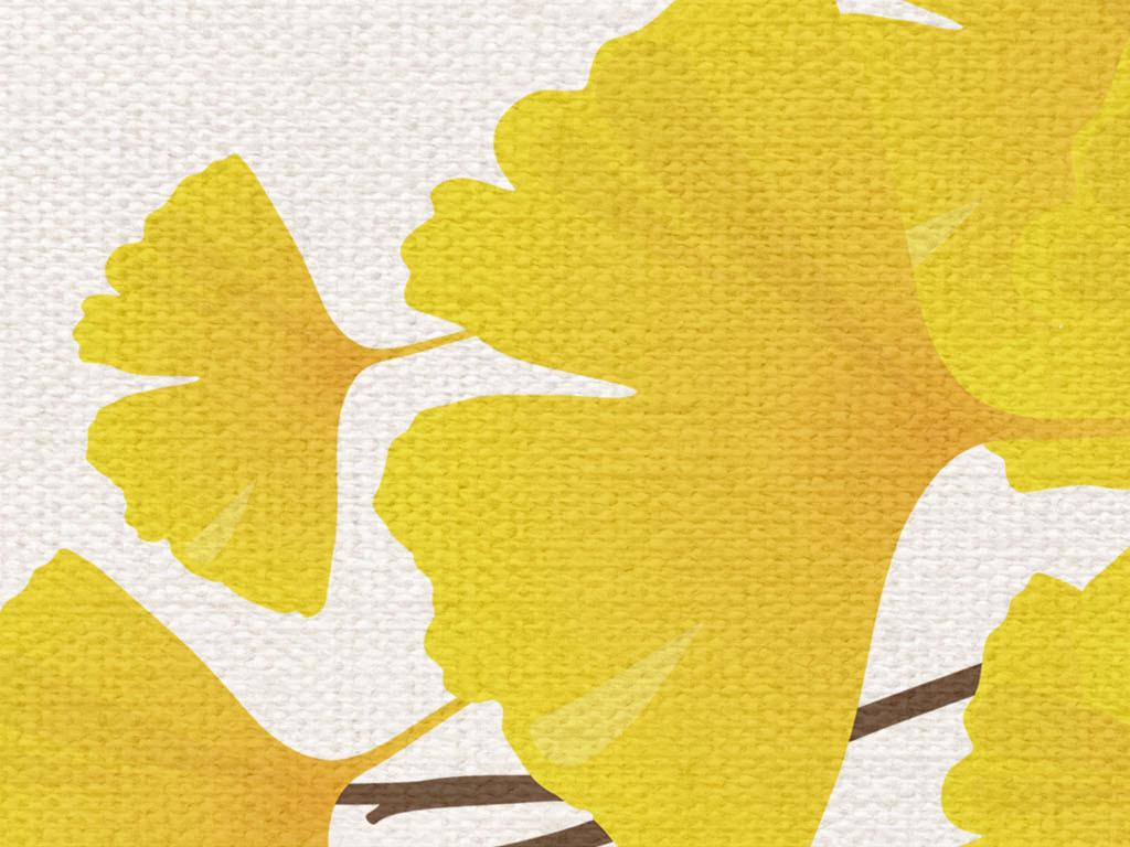 银杏叶叶子壁纸