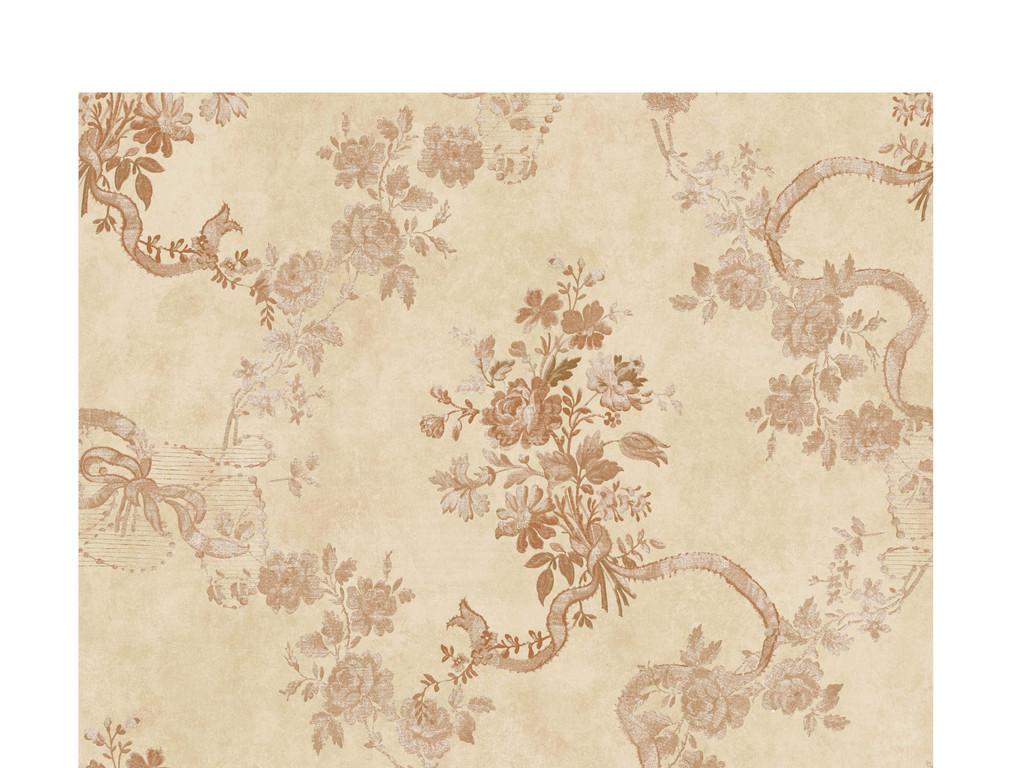 壁纸设计复古怀旧墙纸复古墙纸怀旧花纹欧式花纹墙纸中式中式古典墙纸图片