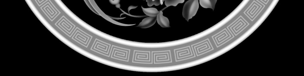 灰度图百灵鸟玫瑰浮雕图精雕