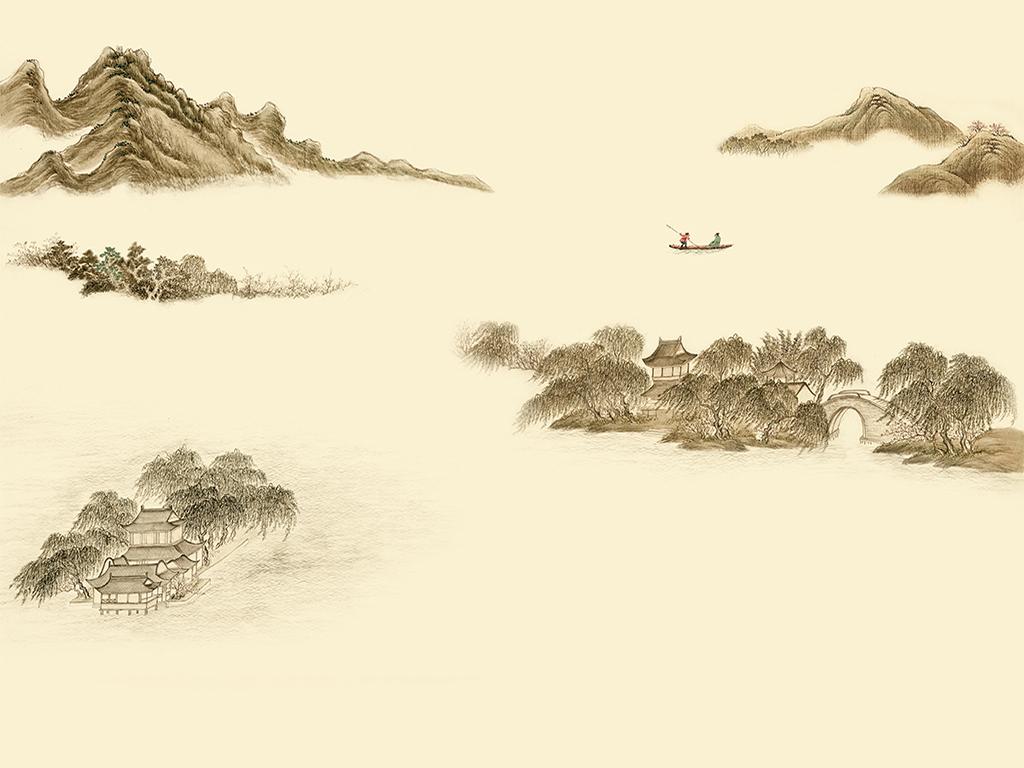 中国风新中式水墨山水(图片编号:15647363)_ 水墨画图片