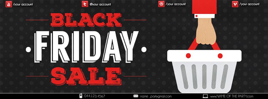 平面|广告设计 海报设计 pop海报 > 黑色星期五商场购物血拼大促销