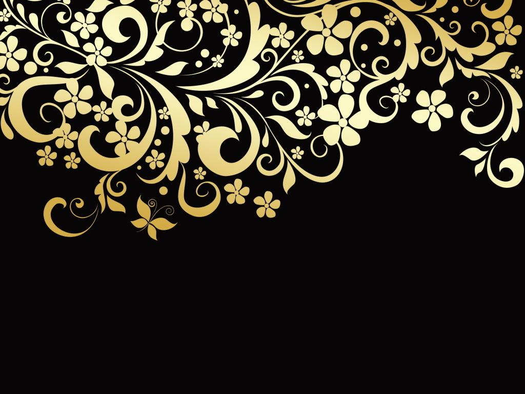 欧式复古风格花纹底纹边框图纹设计海报图