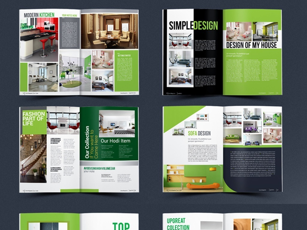 欧美杂志画册图册宣传册企业画册期刊产品手册科技indesign杂志排版