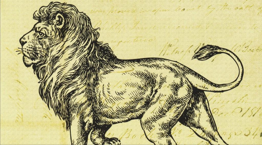 北欧风格简约动物装饰画