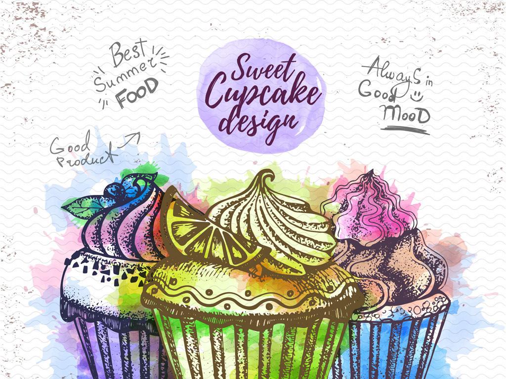 手绘手绘pop手绘pop字手绘海报手绘效果图手绘pop海报蛋糕手绘手绘