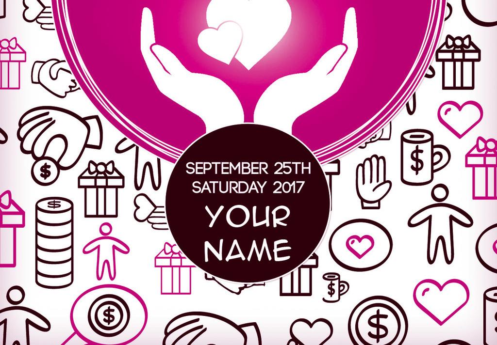 平面|广告设计 海报设计 公益海报 > 手绘插画爱心募捐爱心捐款活动