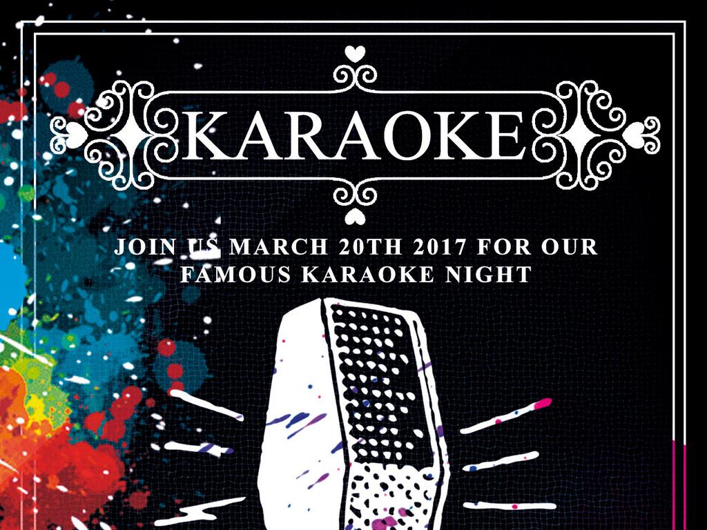 代音乐节演唱会演讲比赛宣传海报模板图片