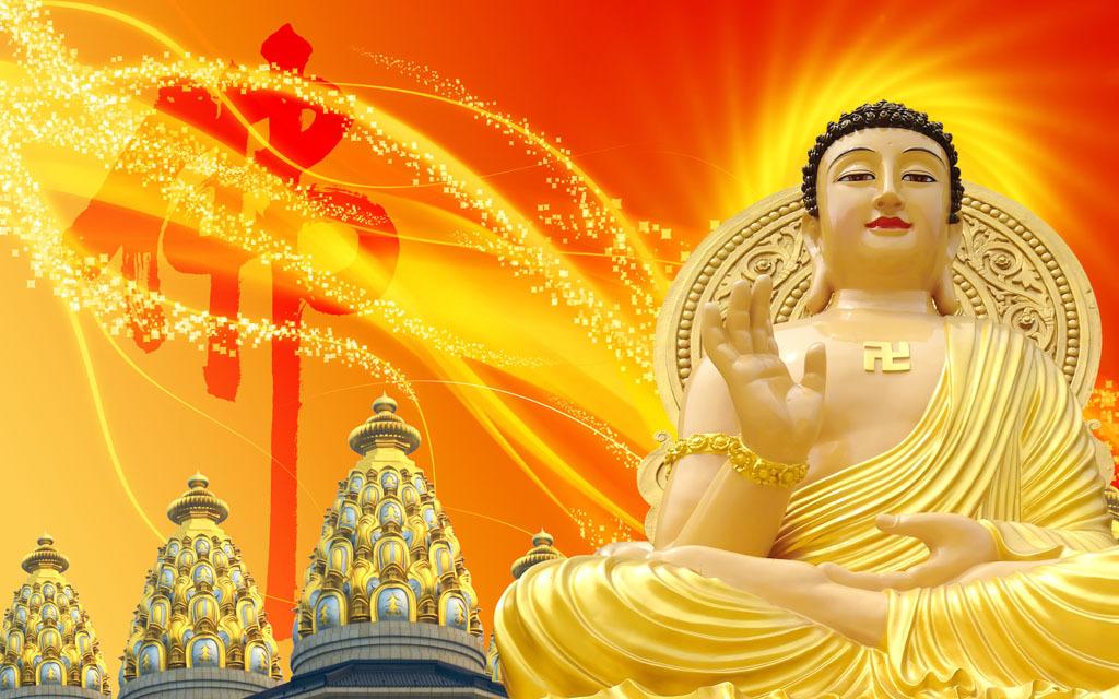 高清佛像佛祖佛陀装饰画背景墙电视墙